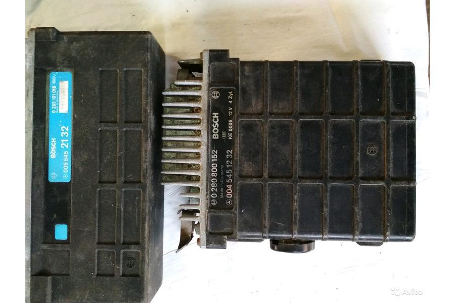 Мерседес 124,190,блоки управления