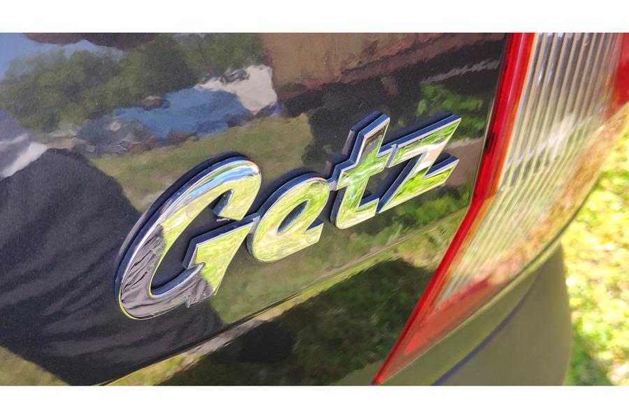 Хёндай Гетц 2005-2011 г. комплект эмблем