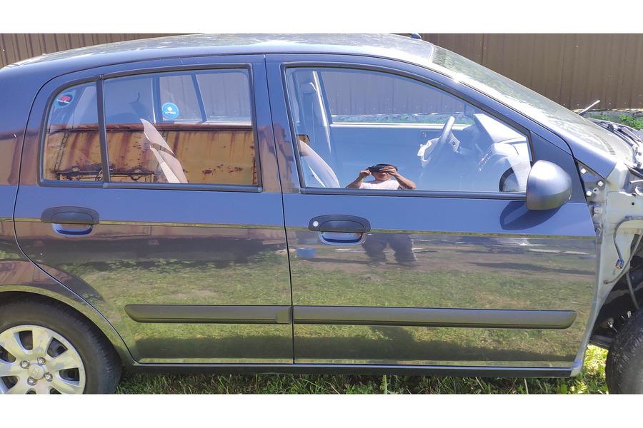 Хёндай Гетц 2010 г комплект правых дверей