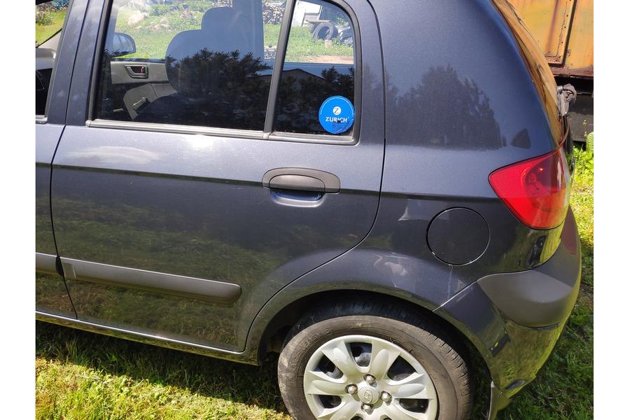 Хёндай Гетц 2005-2011 г. задняя часть кузова
