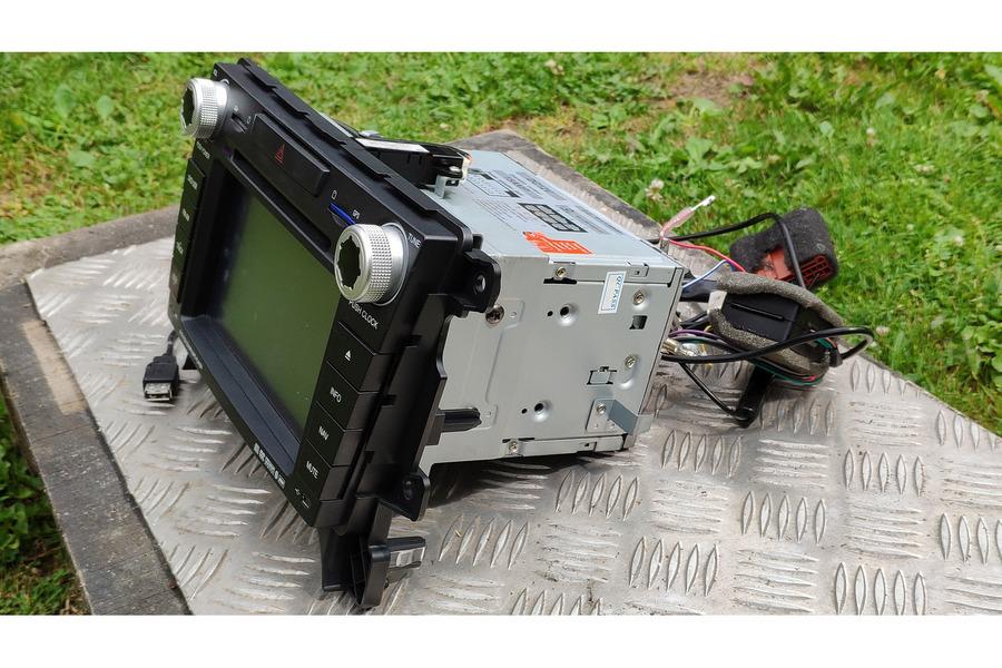 Mazda CX-7 сенсорная мультимедиа Bose